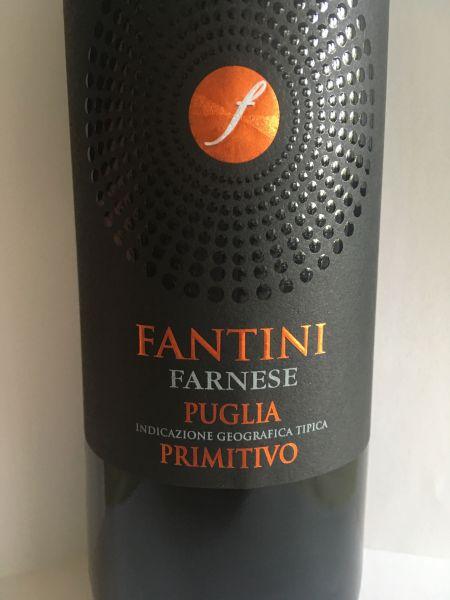 Fantini Farnese Puglia IGT Primitivo 2018