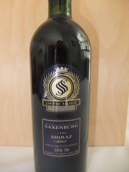 Saxenburg Select Shiraz 1998