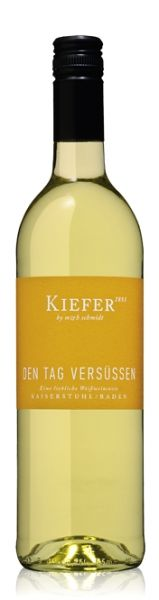 """Kiefer """"Den Tag versüßen"""" liebliche Weißweincuvée 2016"""