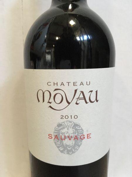 """Château Moyau """"Sauvage"""" 2010"""